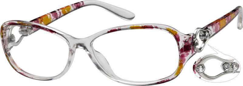 WomenFull RimAcetate/PlasticEyeglasses #279317