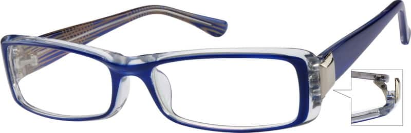 Women Full Rim Acetate/Plastic Eyeglasses #279415