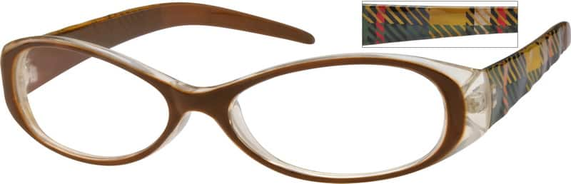 Women Full Rim Acetate/Plastic Eyeglasses #279618