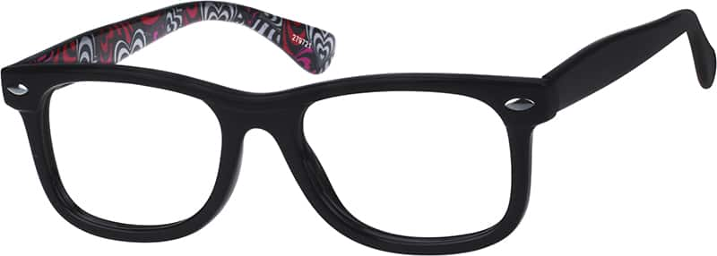 Printed Square Eyeglasses