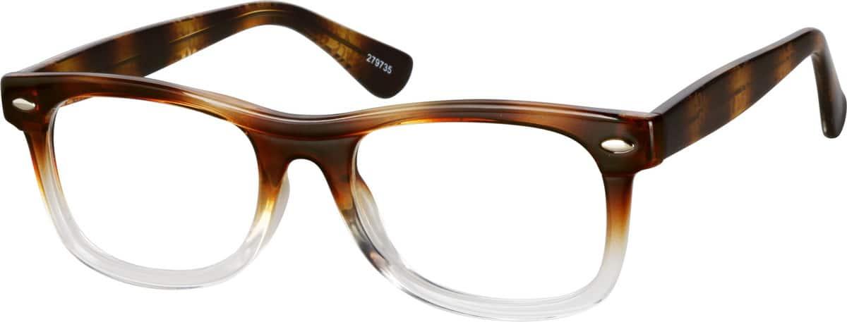 UnisexFull RimAcetate/PlasticEyeglasses #279725