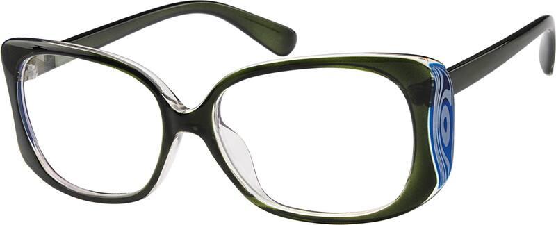 WomenFull RimAcetate/PlasticEyeglasses #279924