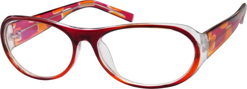 Women Full Rim Acetate/Plastic Eyeglasses #280015