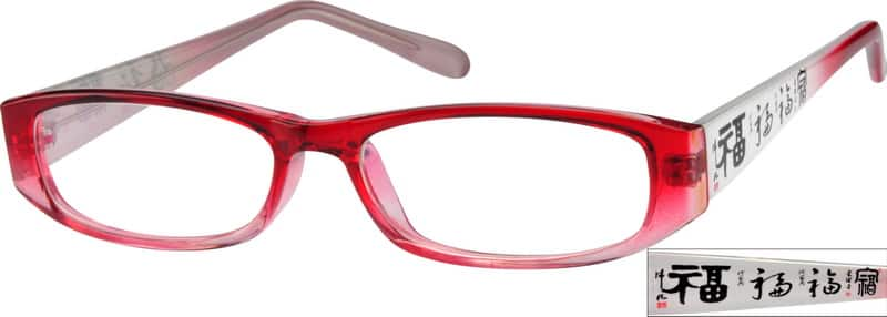 Women Full Rim Acetate/Plastic Eyeglasses #280918