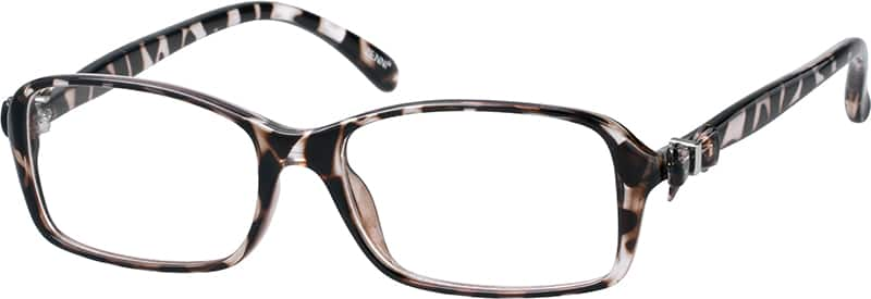 Tortoiseshell Rectangle Glasses from Zenni