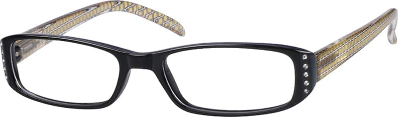 281221-plastic-full-rim-frame-with-spring-hinges
