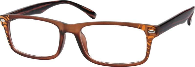 UnisexFull RimAcetate/PlasticEyeglasses #282121