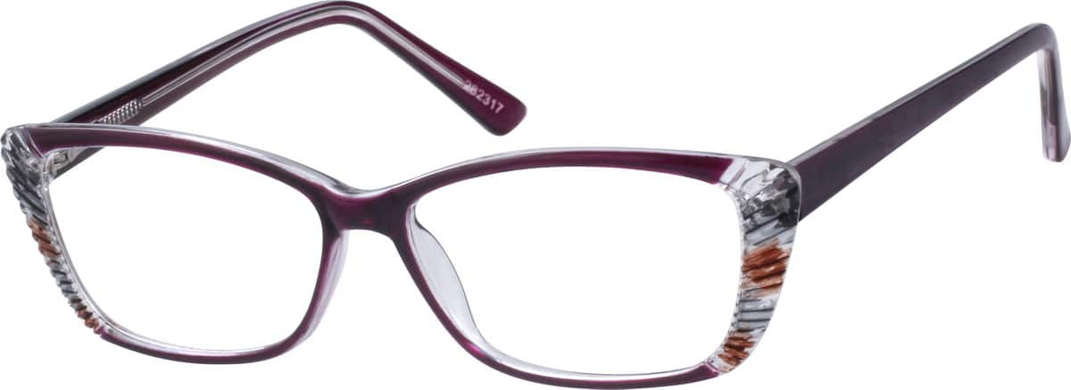 Women Full Rim Acetate/Plastic Eyeglasses #282321