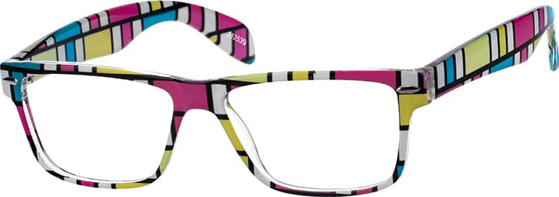 Women Full Rim Acetate/Plastic Eyeglasses #282539