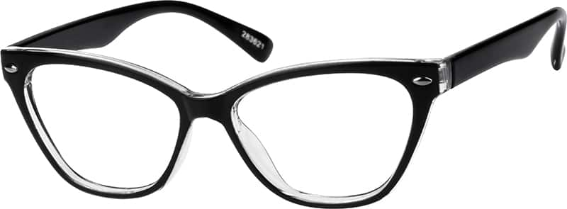Women Full Rim Acetate/Plastic Eyeglasses #283621