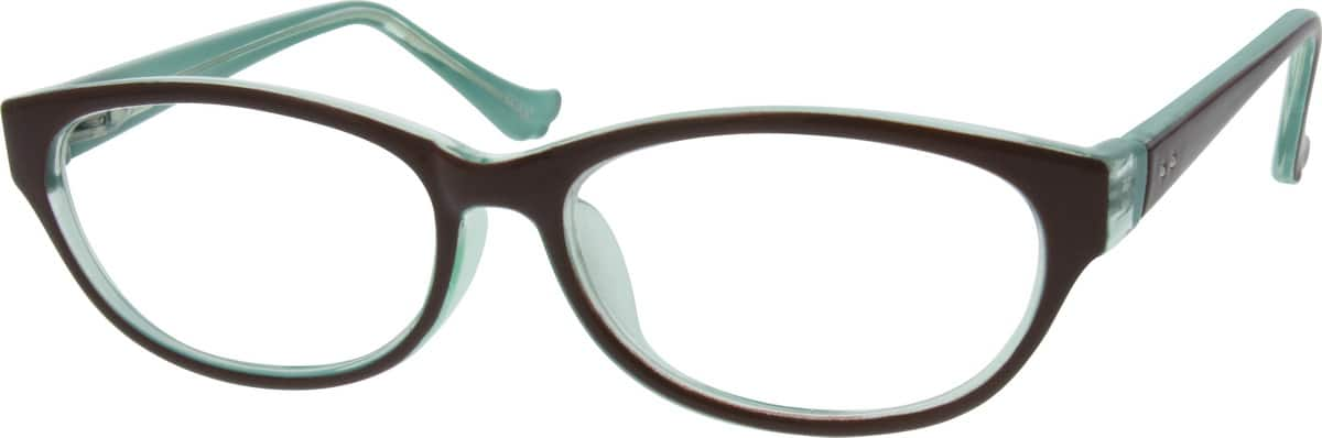 Women Full Rim Acetate/Plastic Eyeglasses #283725