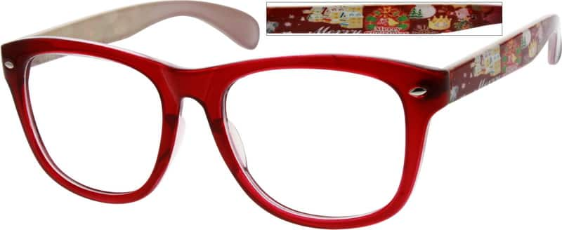 Women Full Rim Acetate/Plastic Eyeglasses #285018