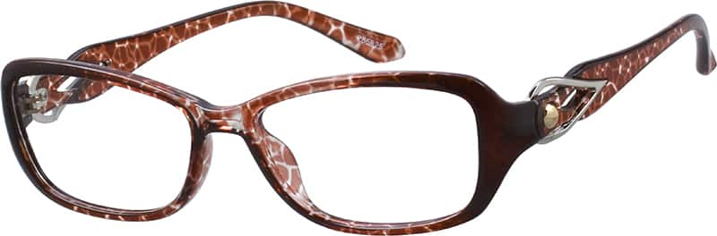 Women Full Rim Acetate/Plastic Eyeglasses #285825