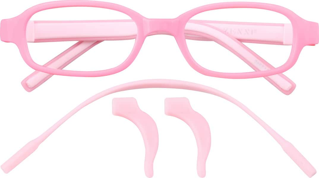 GirlFull RimAcetate/PlasticEyeglasses #286516