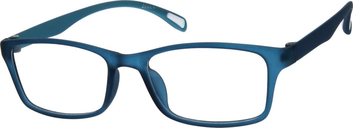 Zenni Optical Blue Glasses : Blue Stylish Plastic Full-Rim Frame #2871 Zenni Optical ...