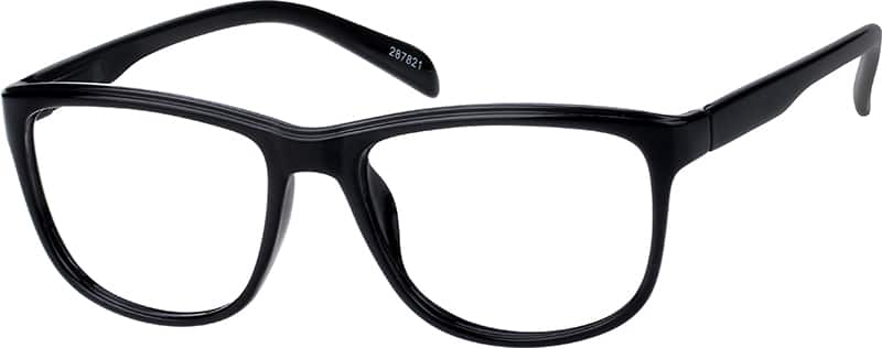Plastic Full-Rim Frame With Spring Hinges