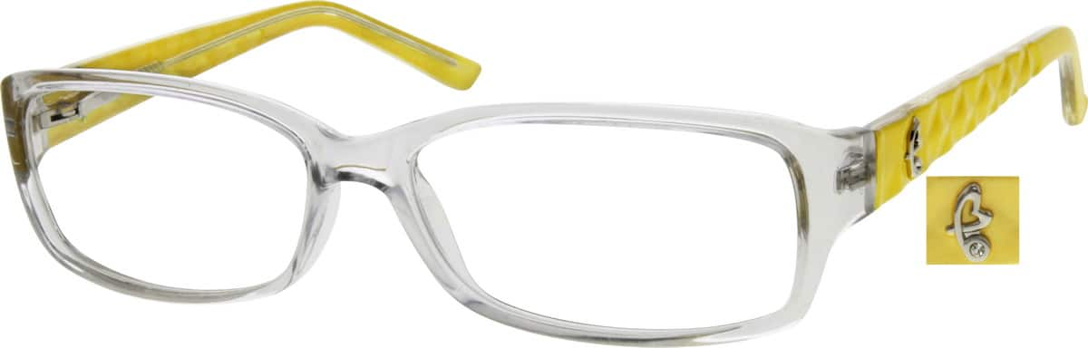 Women Full Rim Acetate/Plastic Eyeglasses #288623