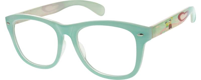 Women Full Rim Acetate/Plastic Eyeglasses #291524