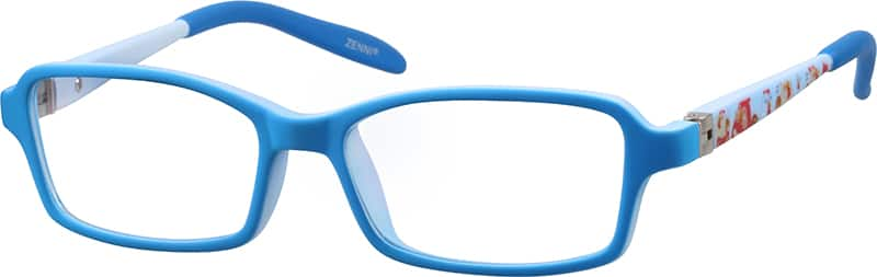 Kids Full Rim Acetate/Plastic Eyeglasses #293316