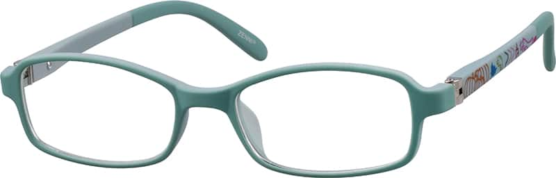 Kids Full Rim Acetate/Plastic Eyeglasses #293516