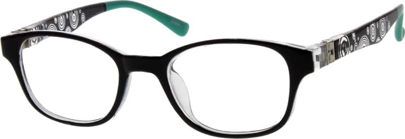 Kids Full Rim Acetate/Plastic Eyeglasses #294121