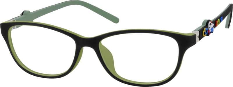 GirlFull RimAcetate/PlasticEyeglasses #294419
