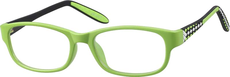 Boy Full Rim Acetate/Plastic Eyeglasses #294612