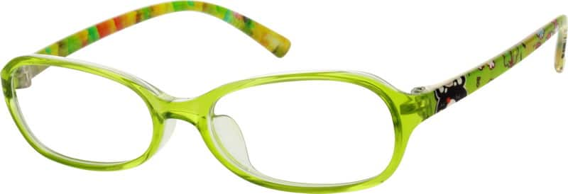 Kids Full Rim Acetate/Plastic Eyeglasses #296524