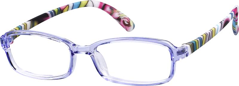 GirlFull RimAcetate/PlasticEyeglasses #296616