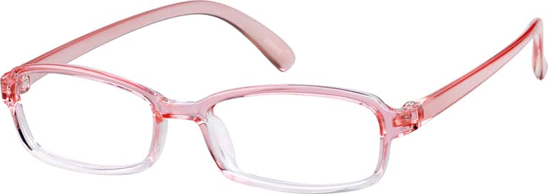 Children's Flexible Plastic Full-Rim Frame
