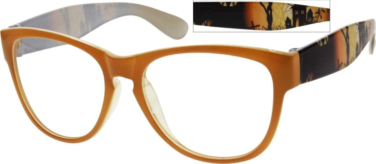 UnisexFull RimAcetate/PlasticEyeglasses #298622