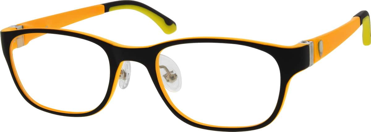 Kids Full Rim Acetate/Plastic Eyeglasses #299121