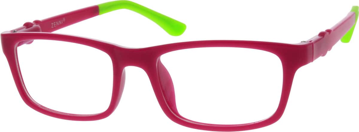 Girl Full Rim Acetate/Plastic Eyeglasses #299722