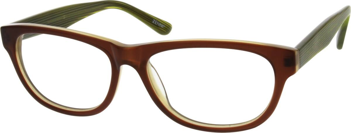 Women Full Rim Acetate/Plastic Eyeglasses #300215