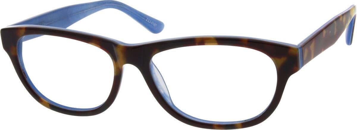 WomenFull RimAcetate/PlasticEyeglasses #300215