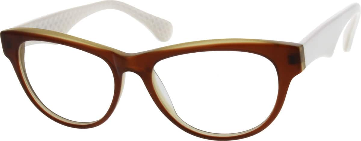 Women Full Rim Acetate/Plastic Eyeglasses #300315