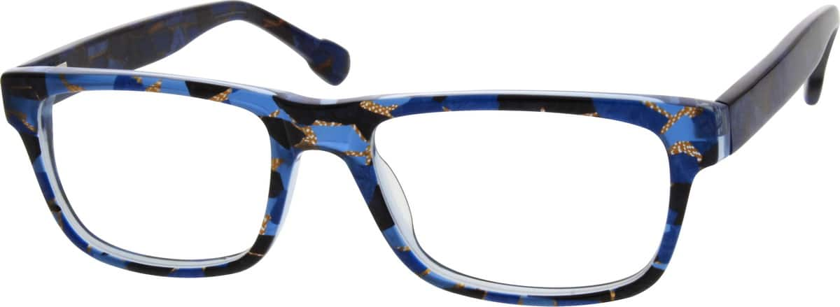 Men Full Rim Acetate/Plastic Eyeglasses #300836