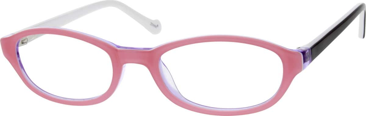 Girl Full Rim Acetate/Plastic Eyeglasses #301819