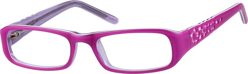Children's Flexible Acetate Frame With Spring Hinges