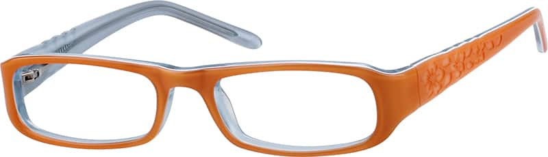 Girl Full Rim Acetate/Plastic Eyeglasses #302322