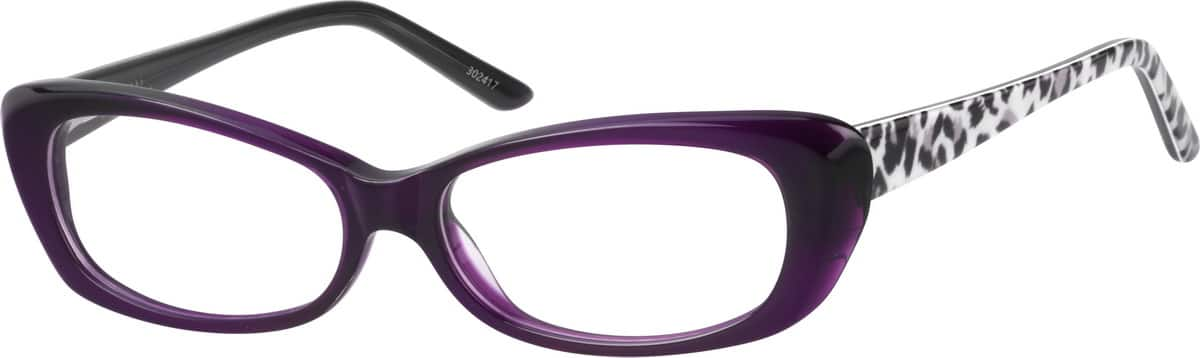 full-rim-cat-eye-style-acetate-eyeglass-frame-for-women-302417