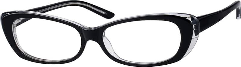Women Full Rim Acetate/Plastic Eyeglasses #302421
