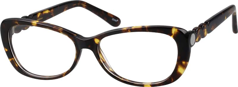 womens-full-rim-cat-eye--eyeglass-frame-with-random-pattern-302825