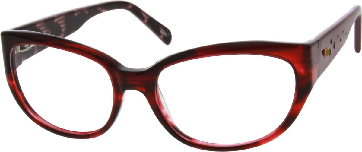 Women Full Rim Acetate/Plastic Eyeglasses #303218