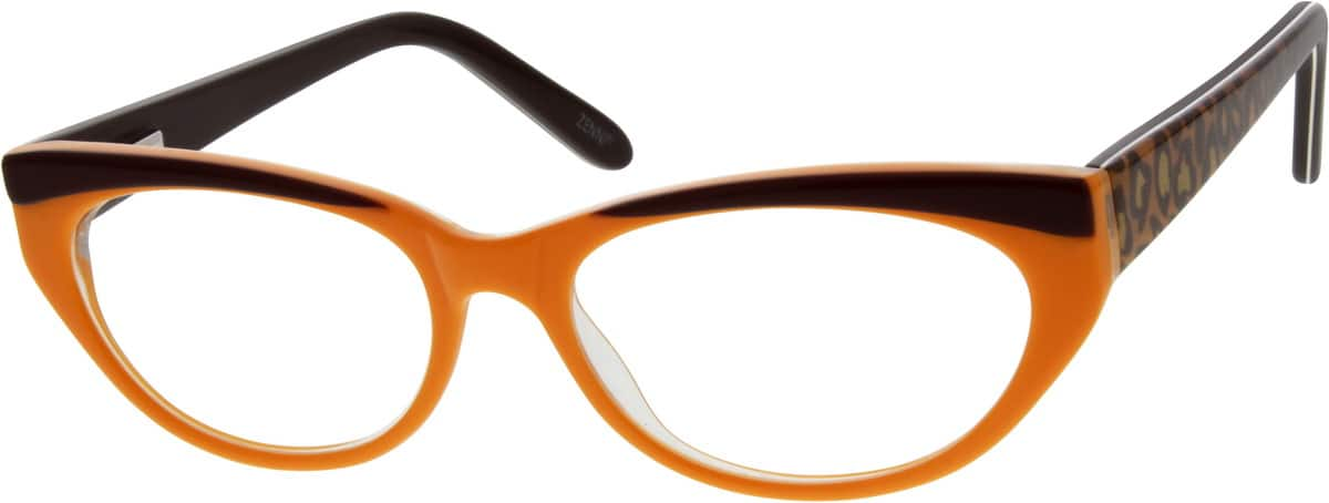 GirlFull RimAcetate/PlasticEyeglasses #303416