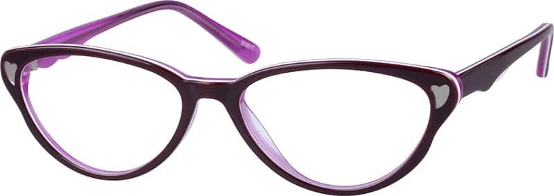 Women Full Rim Acetate/Plastic Eyeglasses #303521