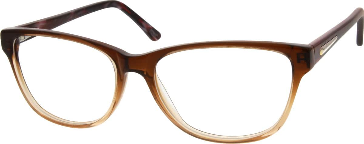 Women Full Rim Acetate/Plastic Eyeglasses #303615