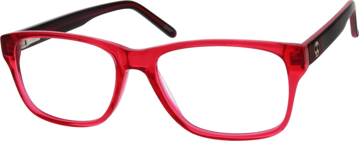 Girl Full Rim Acetate/Plastic Eyeglasses #303716