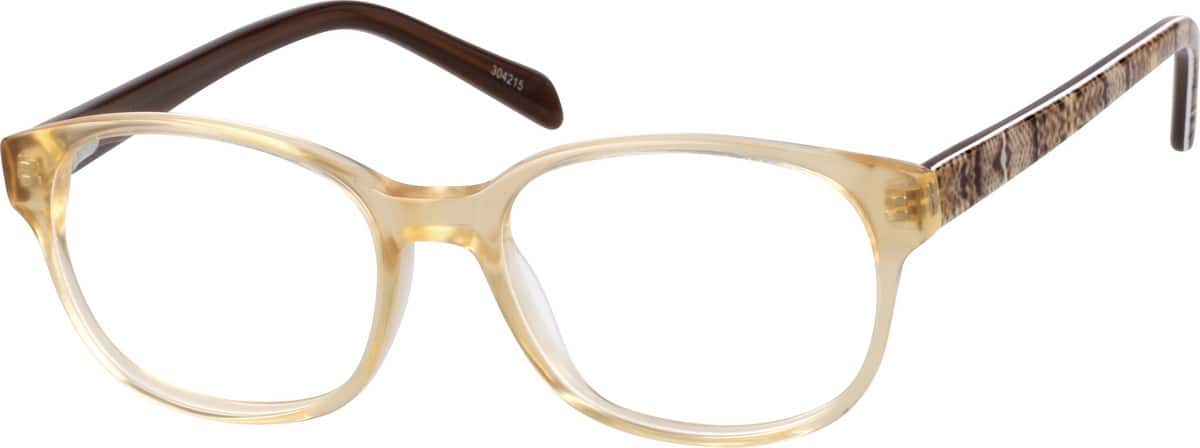 Girl Full Rim Acetate/Plastic Eyeglasses #304215
