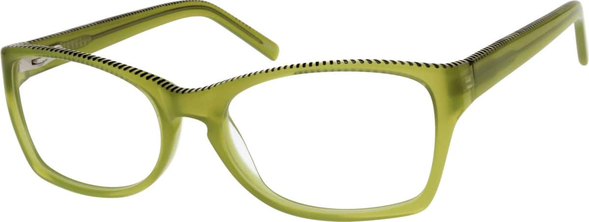 Women Full Rim Acetate/Plastic Eyeglasses #304724
